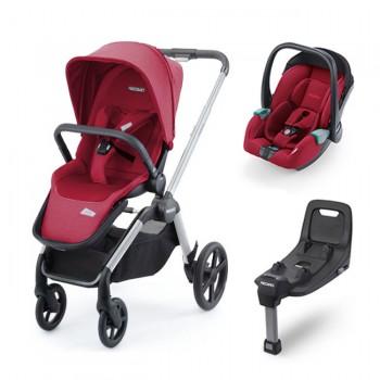 Recaro Duo Celona Avan/Kio Select Garnet Red
