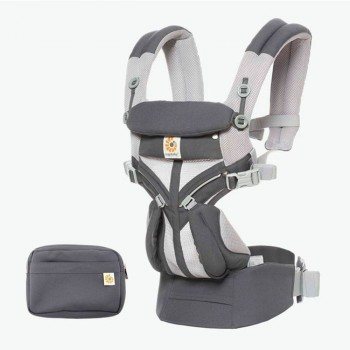 Ergobaby Mochila OMNI 360 Cool Air Carbon Grey EBCS360PCRBGRY