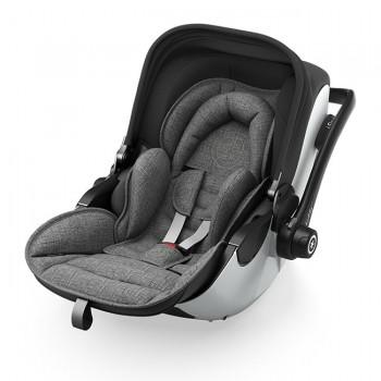Kiddy Cadeira-Auto Evoluna i-Size 2 Grey Melange Icy Grey