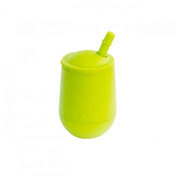 ezpz Copo Mini Cup com Palhinha Verde Lima