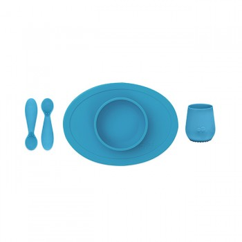 ezpz Primeiro Conjunto de Alimentação Azul