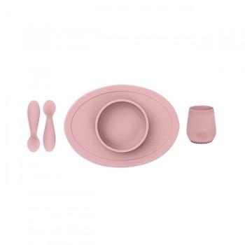 ezpz Primeiro Conjunto de Alimentação Rosa Nórdico