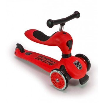 Scoot and Ride Trotinete Highwaykick One Vermelha