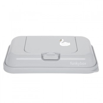 FunkyBox Caixa Toalhetes To Go Cisne Cinza FBTG30