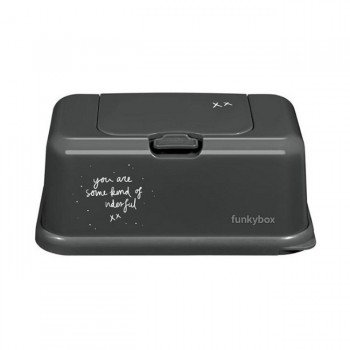 FunkyBox Caixa Toalhetes Magic Cinzento Escuro FB47