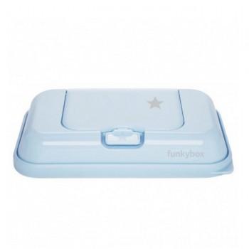 FunkyBox Caixa Toalhetes To Go Estrela Azul Pastel FBTG42