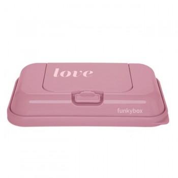 FunkyBox Caixa Toalhetes To Go Love Rosa FBTG33