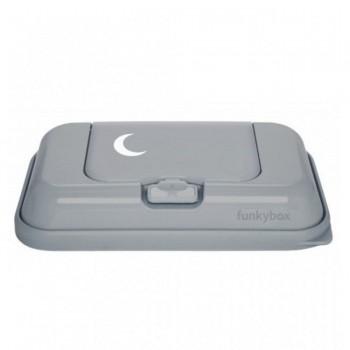 FunkyBox Caixa Toalhetes To Go Lua Cinzento FBTG45