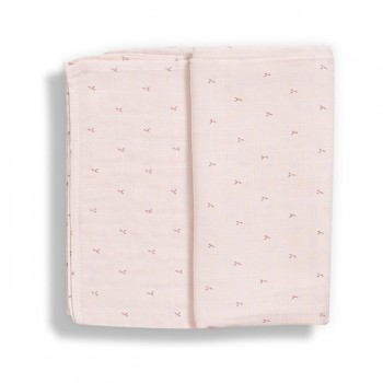 Gloop Fralda Tradicional Blush Rose 70x70 GOFT029