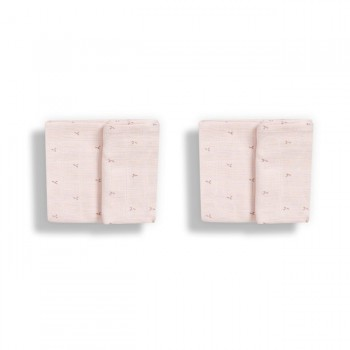Gloop Pack 2 Fraldas Naninhas 50x50cm Blush Rose GOPFN029