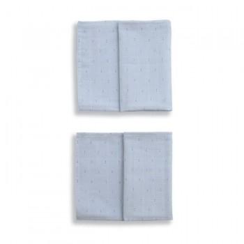Gloop Pack de 2 Fraldas 50x50cm Little Dots Blue GOPFN032
