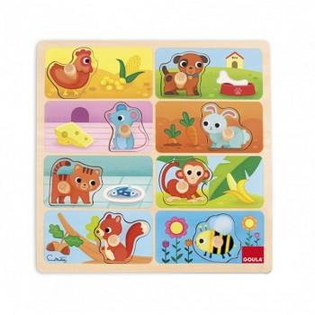 Goula Puzzle A Minha Comida Favorita +24m 53041