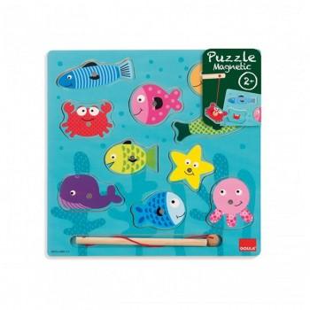 Goula Puzzle Magnético Pesca +24m 53131
