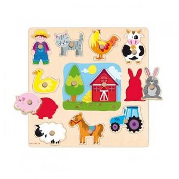 Goula Puzzle Silhuetas da Quinta +24m 53025