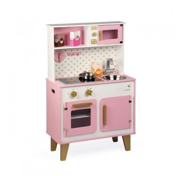 Janod Cozinha Candy Chic em Madeira +3 Anos J06554