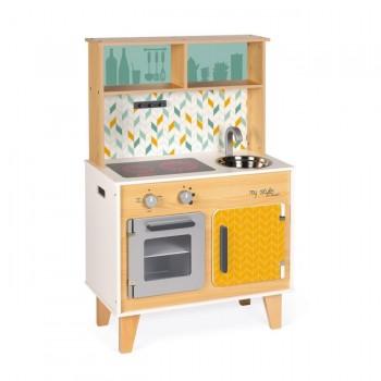 Janod Cozinha My Style Personalizável com Autocolantes +3 Anos J06559