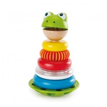 Hape Brinquedo de Empilhar Mr. Frog +12M E0457