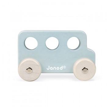 Janod Autocarro Azul Claro Sweet Cocoon +18M J04413