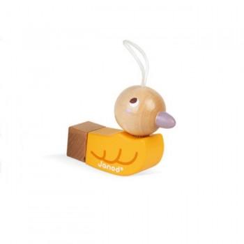 Janod Apito em Forma de Pássaro Amarelo +2 Anos J04027