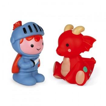 Janod Brinquedo de Banho Cavaleiro e Dragão Luminoso +10M J04701