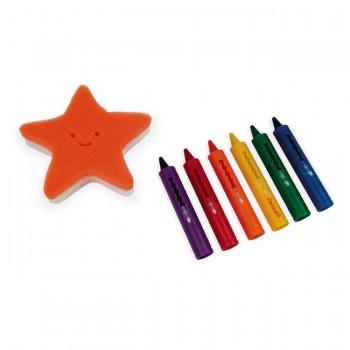 Janod 6 Lápis de Banho para Colorir J04725