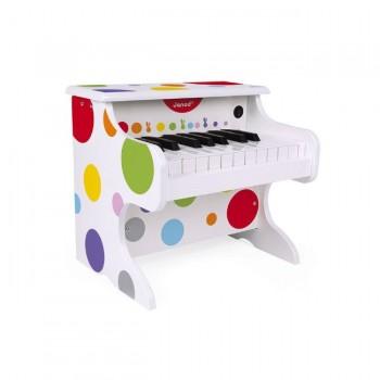 Janod O Meu Primeiro Piano Eletrónico Confetti +3 Anos J07618
