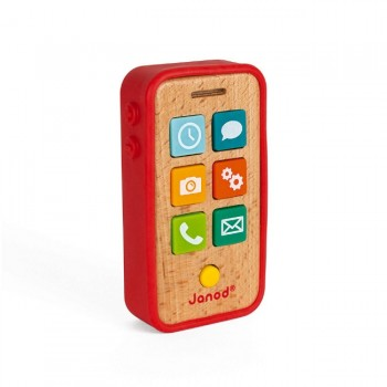 Janod Telefone de Brincar Vermelho +18M J05334