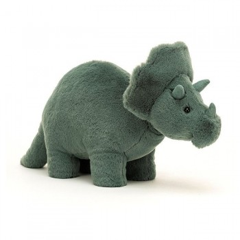 Jellycat Peluche Triceratops Fossilly 17cm +0M FOS2T