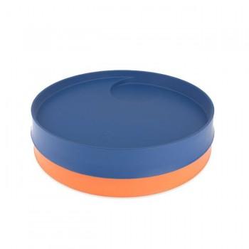 Kizingo 2 Pratos para Crianças Nudge Wave + Mango KNP-026