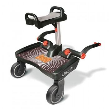 Lascal Patim Buggy Board Maxi + Assento Preto/Cinza 3457