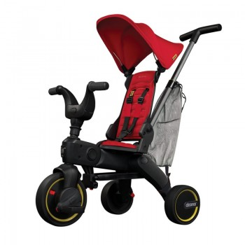 Doona Liki Trike S3 triciclo Flame Red 3365
