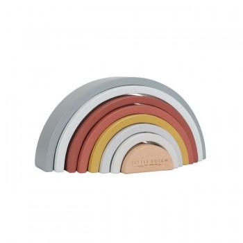 Little Dutch Arco-Íris de Empilhar Multicolor +12M LD4701