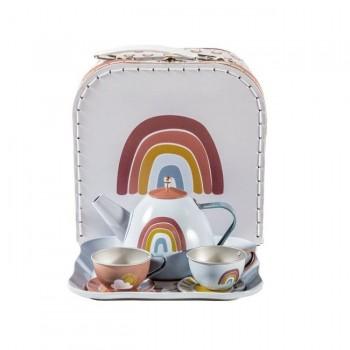 Little Dutch Serviço de Chá Rainbow Pure & Nature +3 Anos 2005390