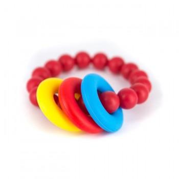 Lollipops & More Mordedor Bracelete Vermelho