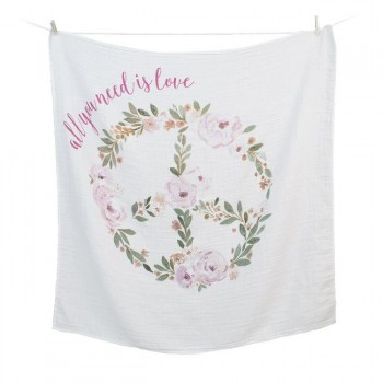 Lulujo Musselina Primeiro Ano All You Need is Love LJ-004-0593