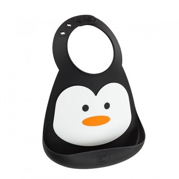 Make My Day Babete de Silicone Pinguim