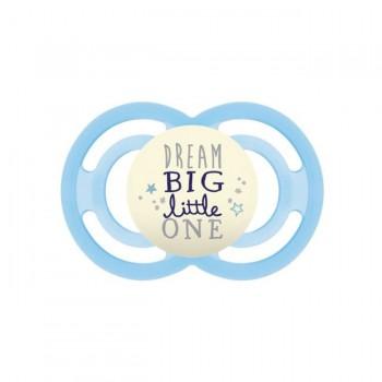 MAM Chupeta Perfect Night Silicone Dream Big Little One Azul +6M S142