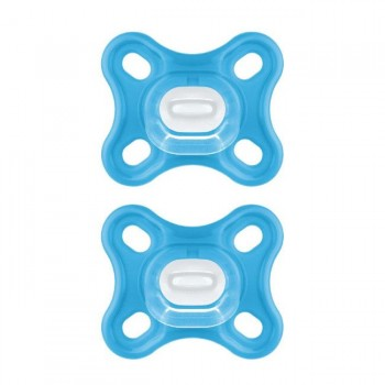 MAM 2 Chupetas Comfort Azul +0M S190