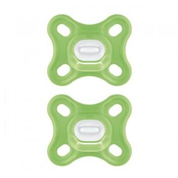 MAM 2 Chupetas Comfort Verde +0M S192