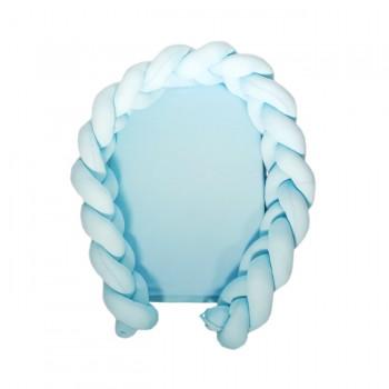 Maminébaba Cama Ninho Algodão Azul