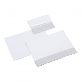 Micuna Conjunto Têxtil 3 Peças para Mini Berço Nature Cinza TX-919