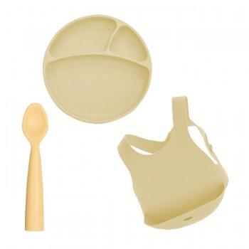 Minikoioi Conjunto de Alimentação Amarelo 261101070010