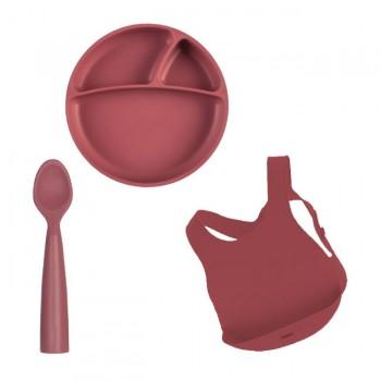 Minikoioi Conjunto de Alimentação Bordeaux 261101070009