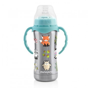 Miniland ThermoBaby Silver 180ml 89188