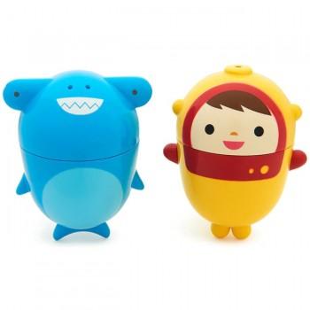 Munchkin 2 Brinquedos Banho CleanSqueeze