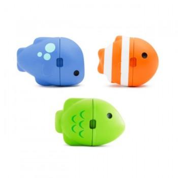 Munchkin Brinquedo de Banho 3 Peixinhos Color Changing ColorMix +12M 051937