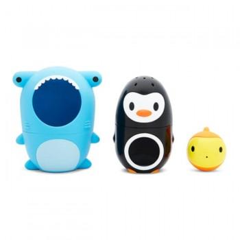 Munchkin Brinquedo de Banho Sharky & Pals 051847