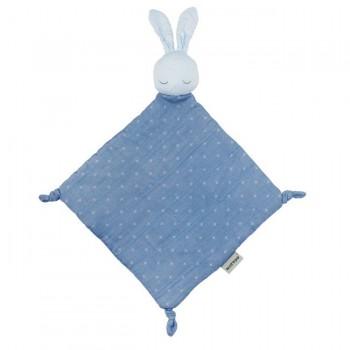 Nattou Pure Cotton Doudou Coelho Azul 11998277