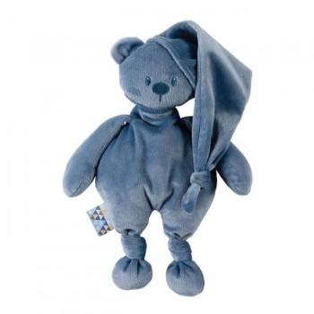 Nattou Urso Lapidou 100% Reciclado Azul Escuro 11877220
