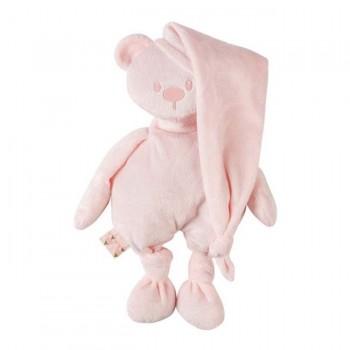 Nattou Urso Lapidou 100% Reciclado Rosa 11877244
